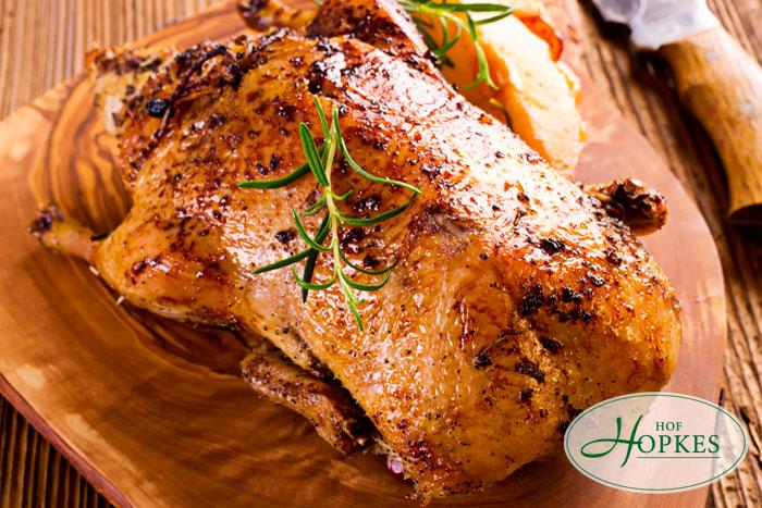 Hof Hopkes Rezept » Ente- und Gänsefleisch